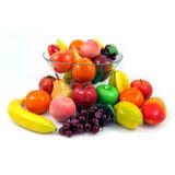 Pacote 12 Frutas Artificiais - Decorativas Lanchonetes Sucos