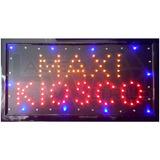 Cartel Luminoso Maxi Kiosco Letrero Led Movimiento Pizarra