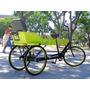 Triciclo Sidecar Bicicleta Paseo Bicitaxi Cargo