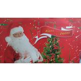 Sacola Papei Noel / Boas Festas Vermelha 2 Unidades C Brinde