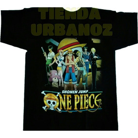 Camiseta Anime One Piece Estampada Tienda Urbanoz