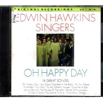Cd / Edwin Hawkins Singers = Oh Happy Day - 18 Great Songs