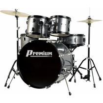 Bateria Musical Premium Dx722 Completa - Oferta