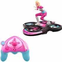 Brinquedo Aventura Nas Estrelas Hoverboard Da Barbie Dlv45