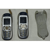 Pack X 2 Celular Motorola I265 Nextel, Holder, Manual