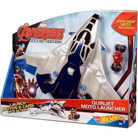 Vingadores 2 Quinjet Moto Lançador Hot Wheels - Mattel