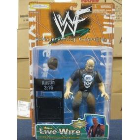 Wwf Live Wire Stone Cold Steve Austin Por Jakks Envío Gratis
