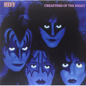 Kiss Creatures Of The Night Vinilo Importado De 180 Gramos