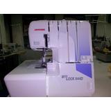 Janome Overlock 644 Semi Industrial Rulote Casa Torcuato
