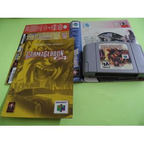 Carmageddon 64 Original Caixa Cortada Nintendo 64 N64