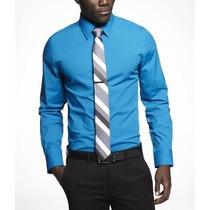 Camisa Express Extra Slim Fit 1mx Originales Nuevas Hombre