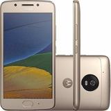 Celular Motorola Xt1672 Moto G5 Ouro 32gb + Chip Tim