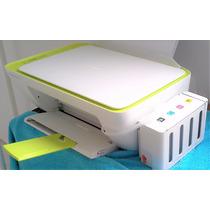 Impressora Multifuncional Hp 2135 Com Bulk Ink Elegance