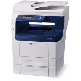Multifuncional Copiadora Xerox 3615 Cama Oficio Wc3615dn Red