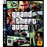 Gta 4 - Grand Theft Auto Iv - Digital Ps3
