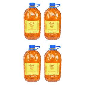 4 Unidades Shampoo Pêssego Salão Lánoly Galão 5 Litros