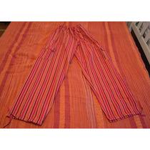 Pantalon Bali Unisex Adultos Artesanal Originales Rayados