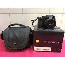 Nikon Coolpix P520 Como Nueva Con Todos Sus Accesorios