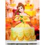 Topper Para Torta Y Cupcake Kit La Bella Y La Bestia Disney