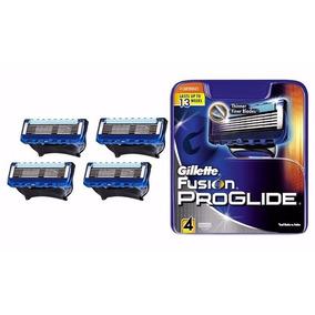 Carga Gillette Fusion Proglide Com 4 Cartuchos Promoção