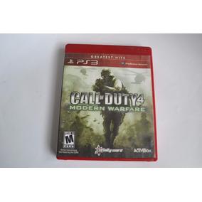 Jogo Seminovo Call Of Duty 4 Modern Warfare Playstation 3