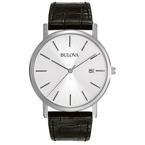 Reloj Bulova 96b104 Negro