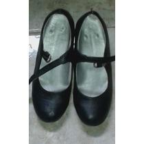 Zapatillas De Flamenco (usadas) Medidas 24