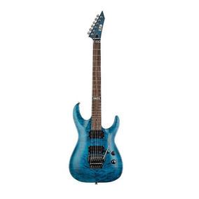 Guitarra Esp Ltd Mh 100 Qm Stb