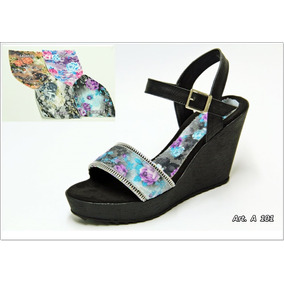 Sandalias Con Plataforma Taco Chino - La Diosa Shoes