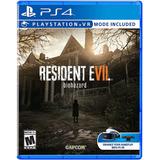 Resident Evil 7 - Playstation 4
