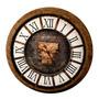 Relógio Romano Corinthian Capital De Parede Em Made S/juros
