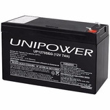 Bateria Unipower Selada 12v 7ah Up1270seg Original Selada