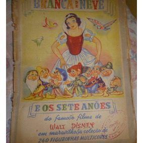 Album Figurinhas Branca De Neve - Editora Vecchi