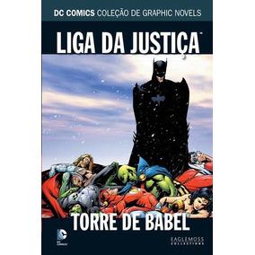 Graphic Novel Dc Comics Liga Da Justiça Vol4 Torre De Babel