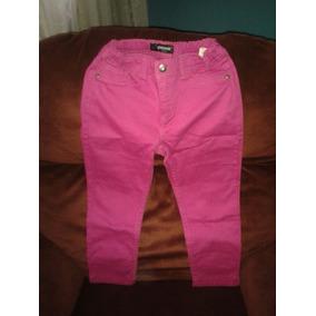 Pantalon Jean Rosado Talla12