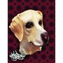 Mascara Latex Perro Batata Caniche Bull Terrier Labrador