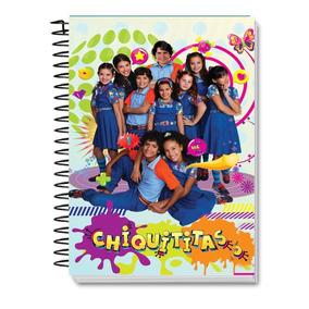 Caderno Chiquititas De Anotações Com Adesivos
