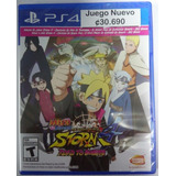 Naruto Ultimate Ninja Storm 4 Road To Boruto - Ps4