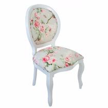 Cadeira De Jantar Medalhão Lisa - Wood Prime