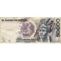 50000 Pesos Cuahtemoc