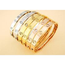 Pulseira Bracelete Love Cartier Novo Modelo Ouro18k Promoção