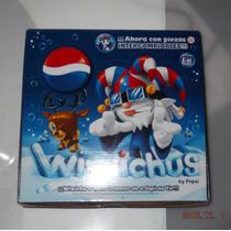 Wiwichus Pepsi Cola Caja Con 16 Del 2009 Navidad