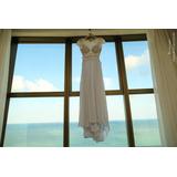 Vendo Vestido De Noiva Bordado A Mão Com Renda Francesa