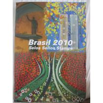 Coleção De Selos Dos Correios Completa Do Ano 2010