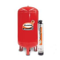 Hidroneumatico Bomba Sumergible 1/2 Hp 130 L Evans Oferta