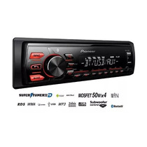 Autoestereo Pioneer 285 Usb Bluetooth Aux Gtía Oficial 1 Año