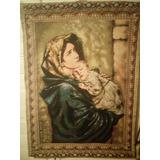 Gobelino, Tapiz, Cuadro De La Virgen Maria De Egipto