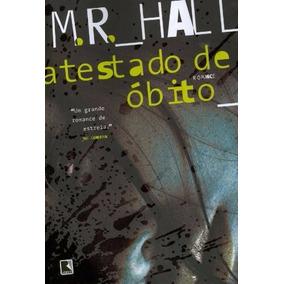 Livro Atestado De Óbito M. R. Hall