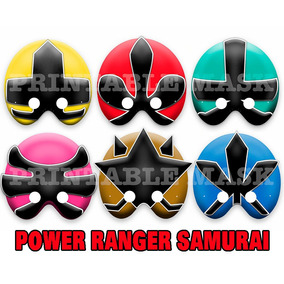 Mascara Antifaz Power Rangers Samurai