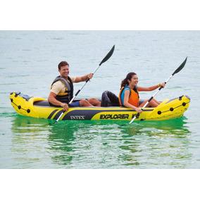 Kayak Inflable Intex Para 2 Personas Explorer K2 68307